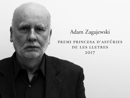 """Imatge de l'entrada """"Adam Zagajewski obté el Premi Princesa d'Astúries de les Lletres 2017"""""""