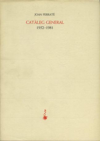 Portada Catàleg general 1952-1981