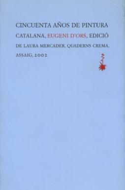 Portada Cincuenta años de pintura catalana