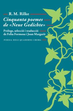Portada Cinquanta poemes de «Neue Gedichte»