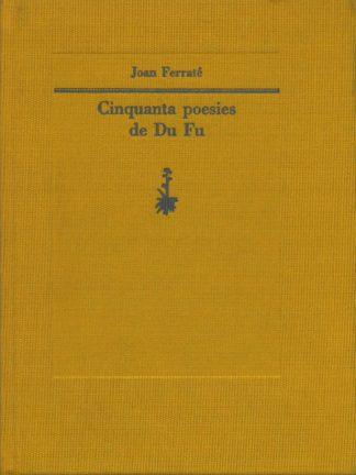 Portada Cinquanta poesies de Du Fu