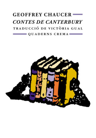 Portada Contes de Canterbury
