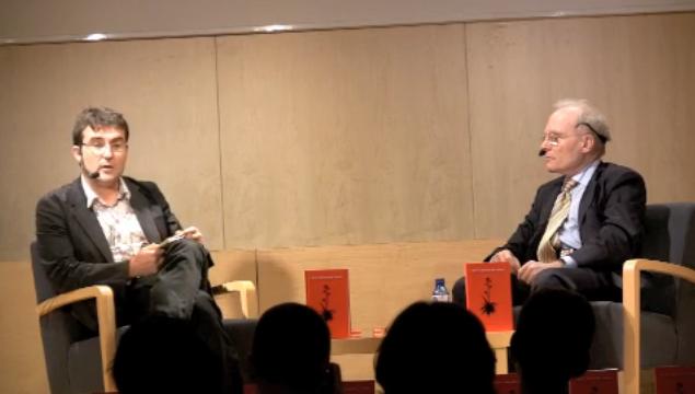 "Imatge de l'entrada ""Conversa entre Jaume Vallcorba i Julià Guillamon"""