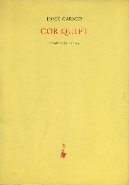 Portada Cor quiet