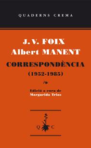 Portada del llibre Correspondència (1952-1985)