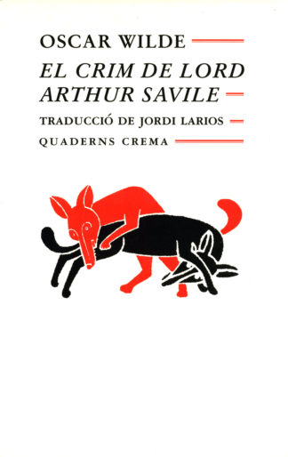 Portada El crim de Lord Arthur Savile