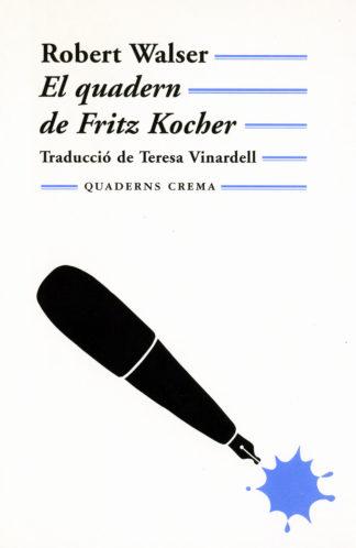 Portada El quadern de Fritz Kocher
