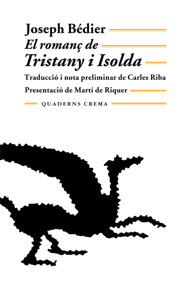 Portada El romanç de Tristany i Isolda