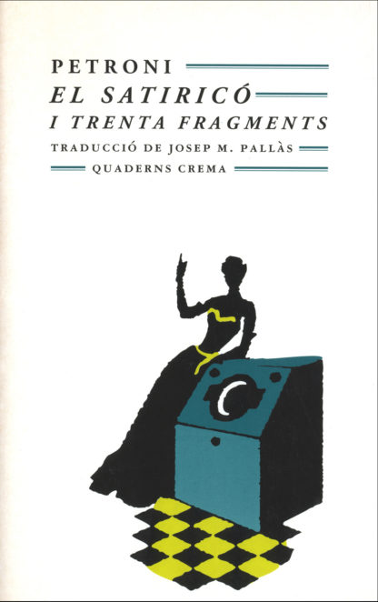Portada El Satiricó i trenta fragments