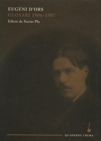 Portada Glosari 1906-1907