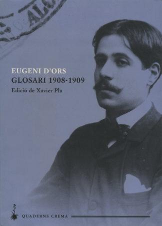 Portada Glosari 1908-1909