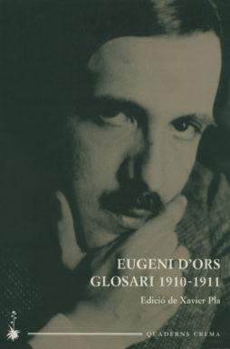 Portada Glosari 1910-1911