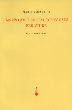 Portada Inventari parcial d'excuses per viure