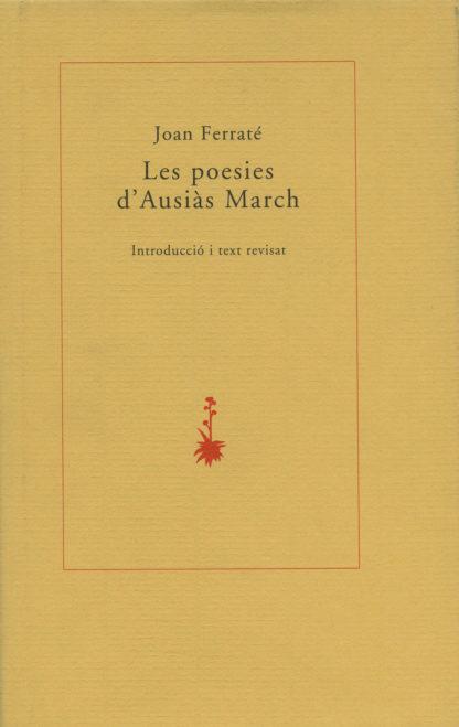 Portada Les poesies d'Ausiàs March