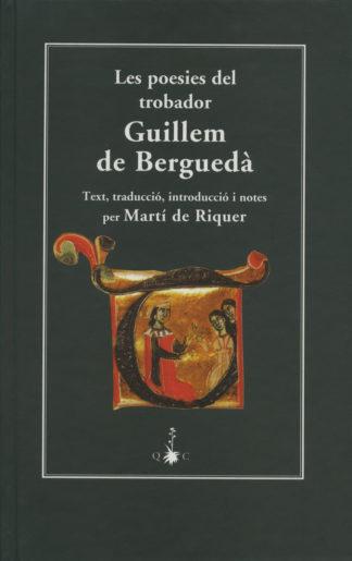 Portada Les poesies del trobador Guillem de Berguedà