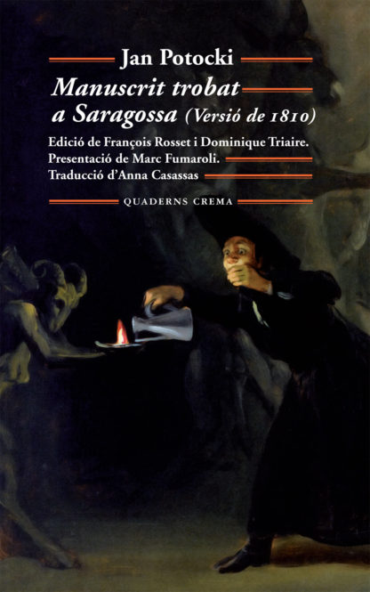 Portada Manuscrit trobat a Saragossa (Versió de 1810)