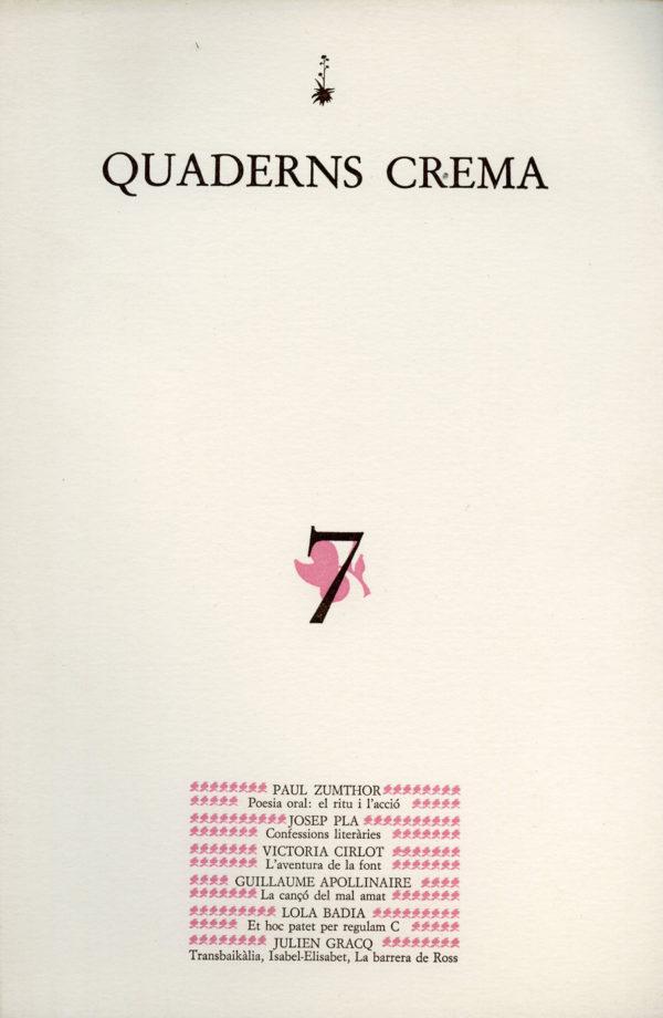 Portada Març de 1983