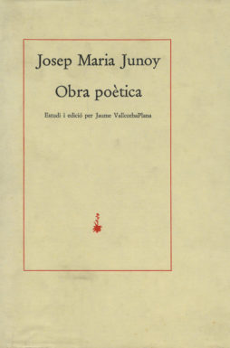 Portada Obra poètica
