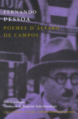 Portada Poemes d'Álvaro de Campos