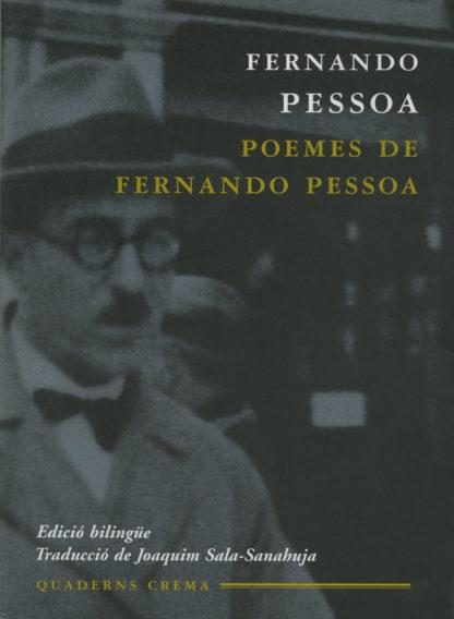 Portada Poemes de Fernando Pessoa