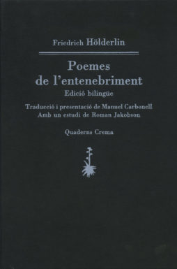 Portada Poemes de l'entenebriment