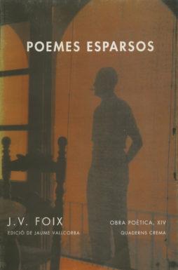 Portada Poemes esparsos