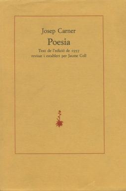 Portada Poesia