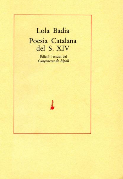 Poesia catalana del s. XIV