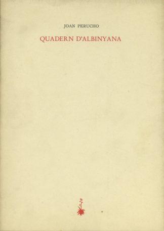 Portada Quadern d'Albinyana