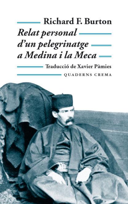 Portada Relat personal d'un pelegrinatge a Medina i la Meca