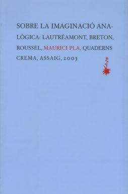 Portada Sobre la imaginació analògica:Lautréamont