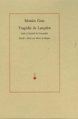 Portada Tragèdia de Lançalot