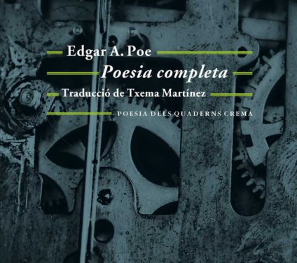 """Imatge de l'entrada """"Txema Martínez recitarà els versos d'Edgar Allan Poe"""""""