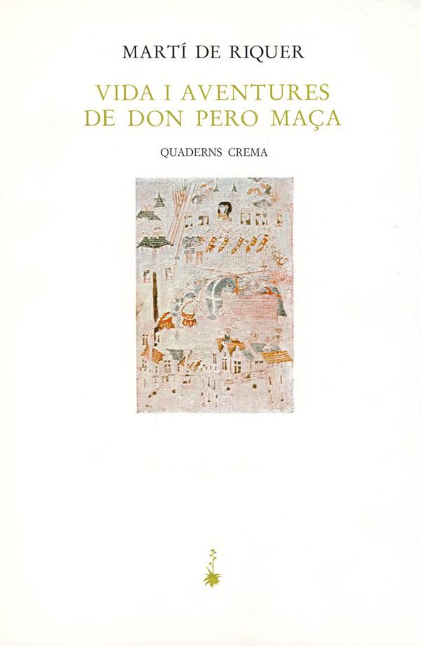 Portada Vida i aventures de don Pero Maça
