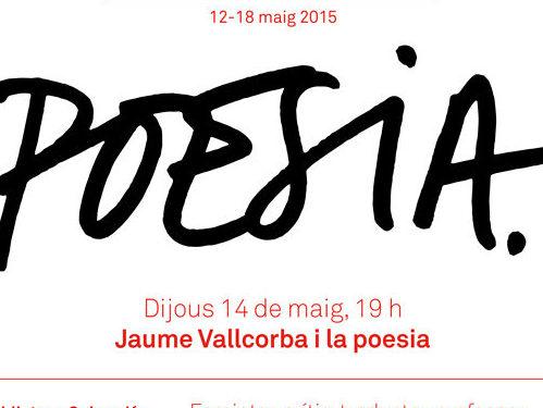 """Imatge de l'entrada """"Vídeo de l'homenatge a Jaume Vallcorba durant la Setmana de la Poesia"""""""