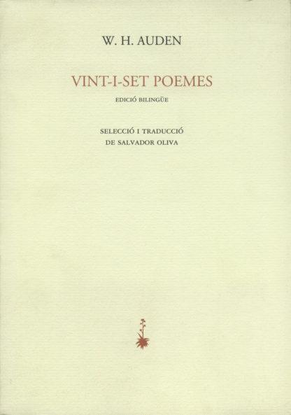 Portada Vint-i-set poemes